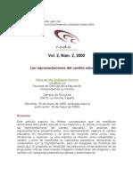 35331096 2000 Rodriguez Las Representaciones Del Cambio Educativo