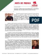 IU exige por enésima vez el Mapa Escolar de Alcalá