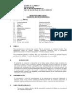 SILABO INGENIERÌA HIDRÁULICA I-2013-2