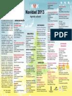 Agenda Cultural Navidad 2013