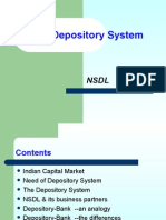 The Depository System