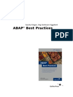 Abap Best Practices - Sap Press