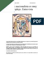 Entrevista a Josep Fontana Sobre Le Nacionalismo Hoy