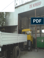 Typical mechanical Workshops at site