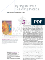 Article PharmTechn Stability Program Drug Distribution July 2004