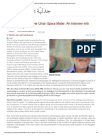 On Why Struggles Over Urban Space Matter_ an Interview With David Harvey