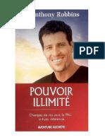 Pouvoir Illimite Changez de Vie Avec La Pnl Le Livre Reference