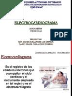 electrocardigrama modificado