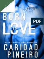 Free Bonus Content from BORN TO LOVE Vampire Suspense