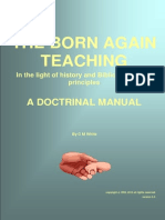 The Born Again Doctrine in the Light of History