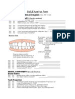 SMILE Analysis Form