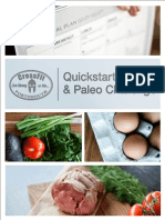 Sample Branded Paleo Plan Quickstart Guide and Paleo Challenge