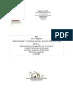 Pegoraro - Inseguridad y Violencia en El Marco Del Control Social