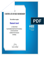 IEEE Certificate 2012