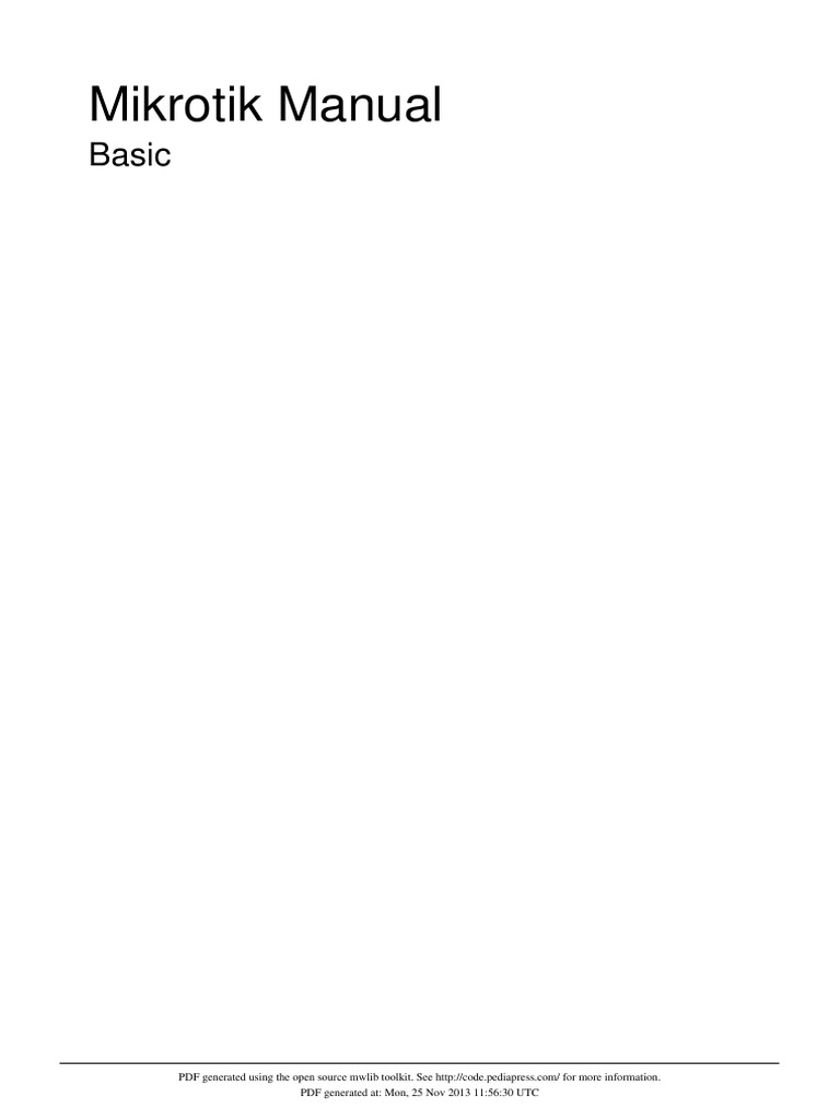 Basic Mikrotik | Command Line Interface | Wireless Lan