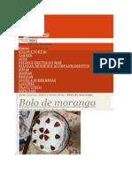 Bolo Morango