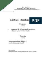Limba Si Literatura Latina