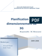 Dimensionnement de 3G (2)