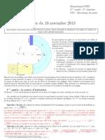 Correction de Partiel1 - Session1 - 2014