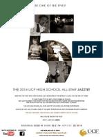 2014  UCF High School All-Star Jazztet