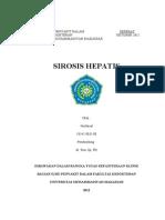 Refarat Nurfaisal Sirosis Hepatis