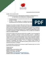 Comunicado de prensa 012 - Programa Educación Lectora Intercultural