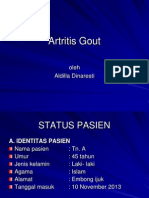 Gout Artritis Ppt