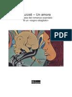 Un amore di Dino Buzzati, lo studio del caso editoriale