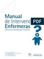 Manual de Intervenciones de Enfermeria