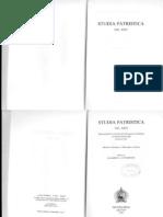 Studia Patristica Vol. XXIV  - ed. E.A.. Livingstone -Historica, Theologica Et Philosophica, Gnostica  -