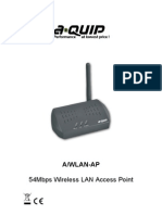 A-Quip WLAN Access Point Manual