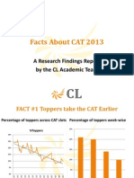 Cat 2013 Research Report
