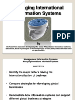 Managing International Information System