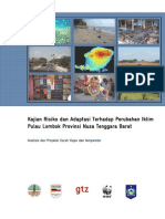 Analisis Dan Proyeksi Curah Hujan Dan Temperatur