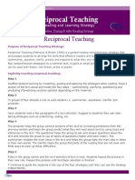 Reiciprocal Teaching Strategy Handout Copy 2 0