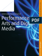 International Journal of Performance Arts and Digital Media