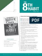 8th Habit, Stephen Covey - Stanfor Management Instute