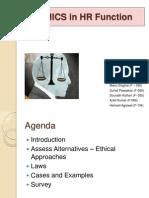 Group 3 Ethics HR