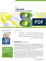 The 8th Habit, From Effectiveness to Greatness - Read Book Reviews