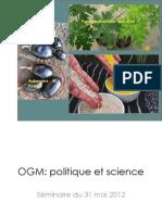 Cours OGM en Suisse 2012