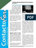 Contacto Foro - Marzo 2013