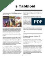 Rogue Games Tabbloid -- August 19, 2009 Edition