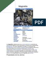 4 Minerales y Sus Propiedades Tarea