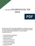 PRINCIPIOS BÁSICOS DEL TOP DRIVE