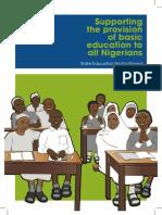 Nigeria - State Education - Advocacy Report