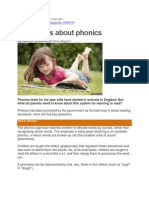 Five Things About Phonics