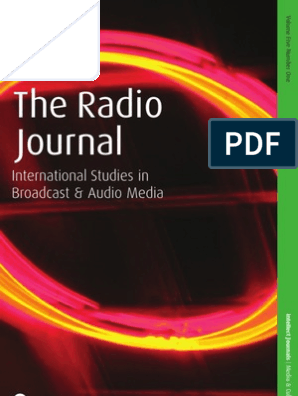 The Radio Journal: International Studies in Broadcast and