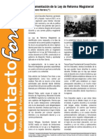 Contacto Foro - Mayo 2013