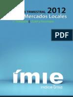 Imie Mercados Locales 1 TRIM 2012