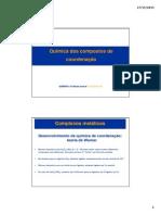 Química Geral -   Compostos de coordenação